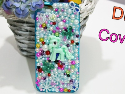 Come Decorare una Cover con mezze perle ❀DIY Phone Cover Decoration