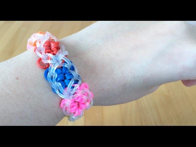Power Flower Elastici Loom Tutorial Italiano -medio difficile