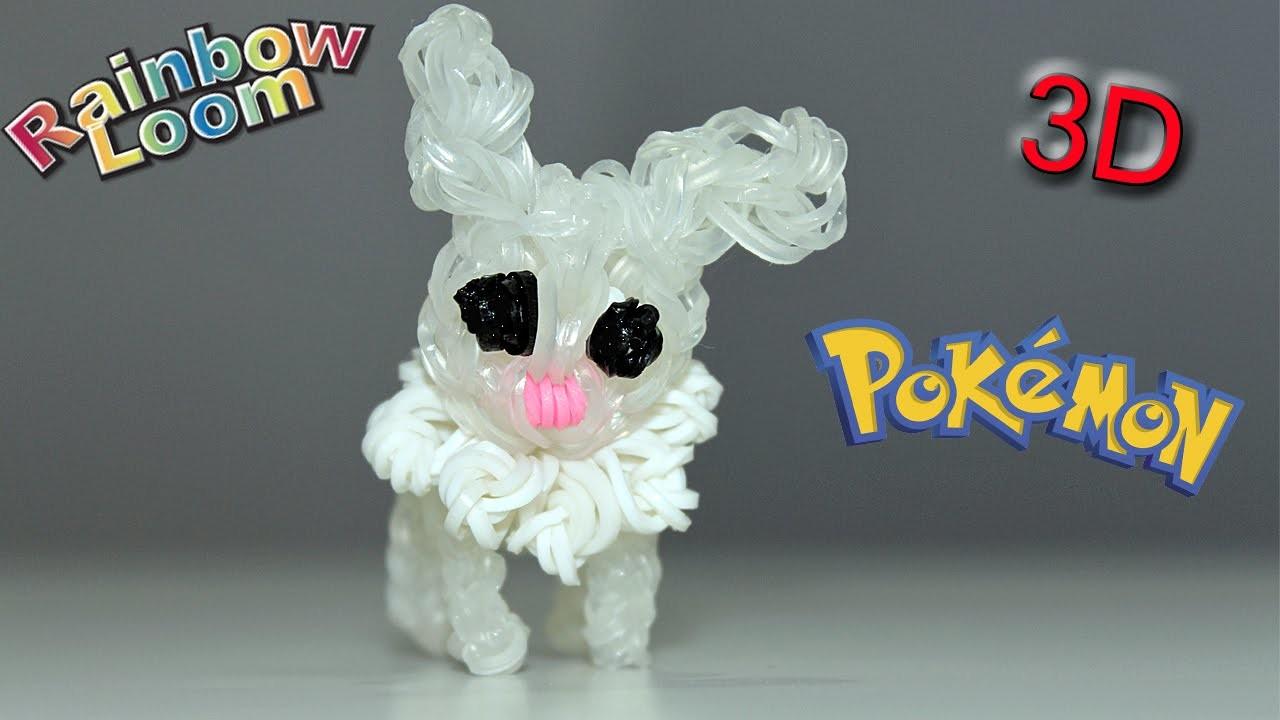 Pokémon con Elastici Rainbow Loom Figurine.Charm ✿
