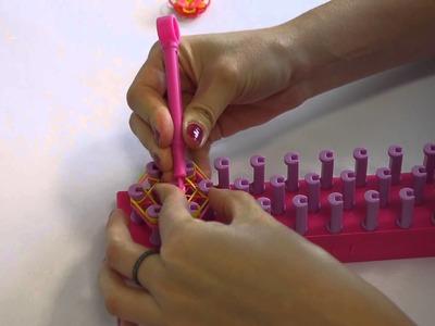 Charms fiore: come farli con elastici Elaticolor
