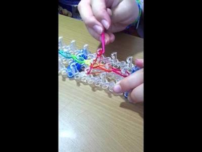Creazioni con elastici (croce)
