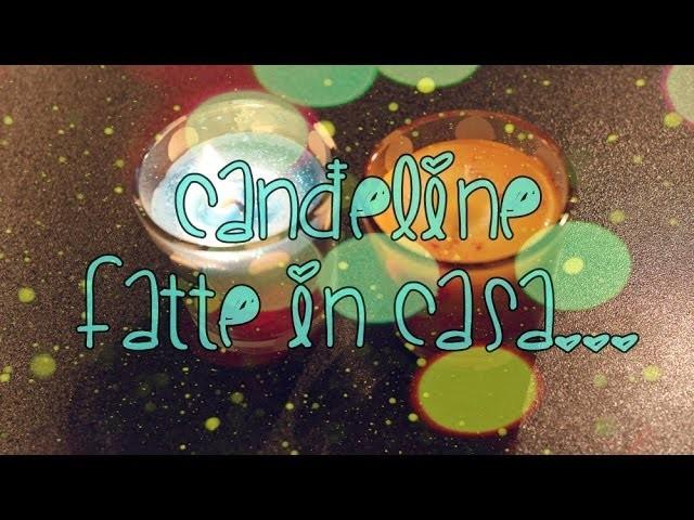DIY ♥ Candele Fatte in Casa Riciclando! ♥
