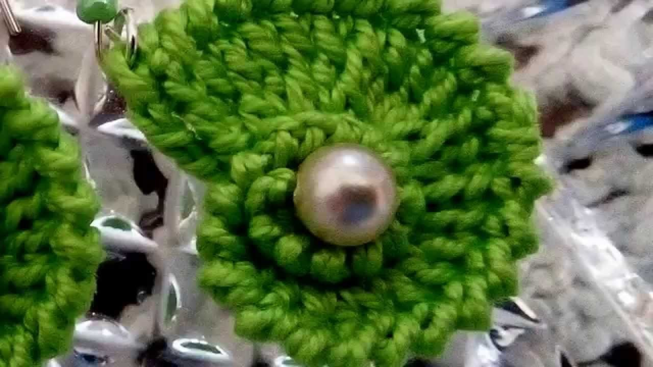 Orecchini artigianali uncinetto - Titta Fashion
