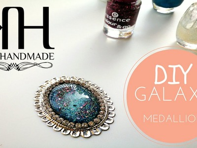 ✰ [Tutorial #11] DIY | Medaglione galattico | Galaxy medallion necklace ✰