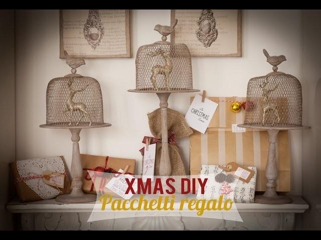 XMAS DIY: I miei pacchetti regalo per Natale