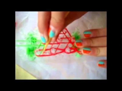 Come realizzare una fragola con elastici  spiegazioni in Italiano