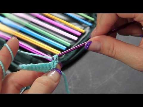Video Tutorial Uncinetto Maglia Bassa - single crochet - Punti base Full HD Ita