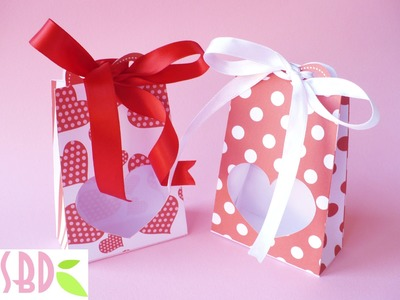 Scrapbooking: Scatoline S valentino - S Valentine boxes