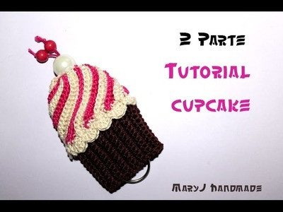 Cupcake all'uncinetto (Parte 2 di 2) | Crocheted cupcake (2 of 2)