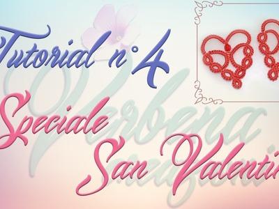 Chiacchierino ad Ago: TUTORIAL 04 - Speciale San Valentino - needle tatting Valentine's day