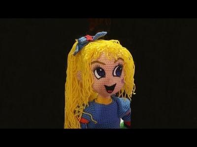 Bambola amigurumi uncinetto - Parte IV - Raimbow amigurumi - amigurumi doll