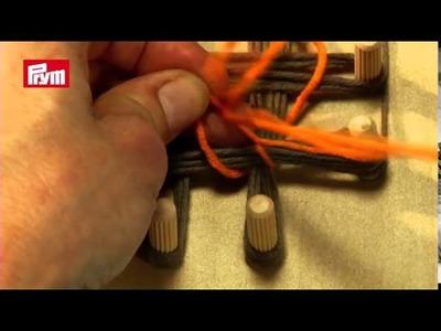 PRIMO 1° TELAIO MARIA GIO QUADRATO PRYM in Legno per lavorare Maglia lana