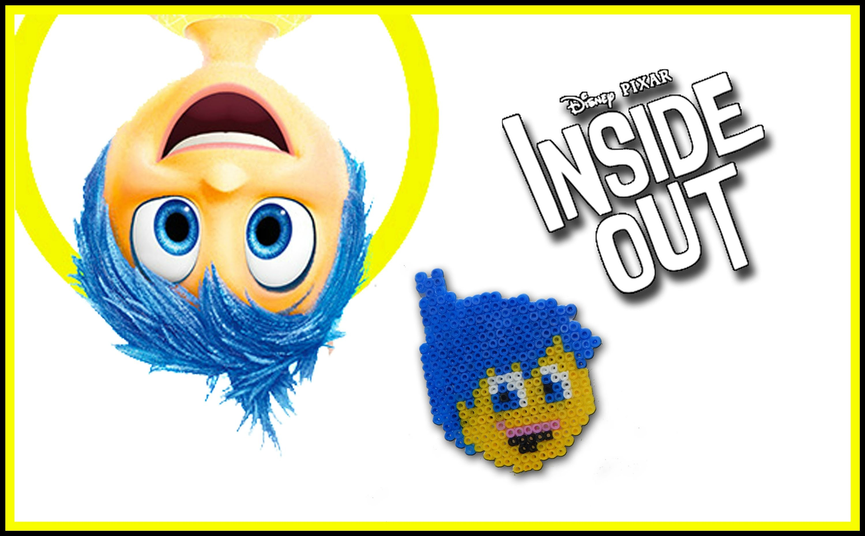 GIOIA di Inside Out con HAMA BEADS - DIY Tutorial Joy Charm