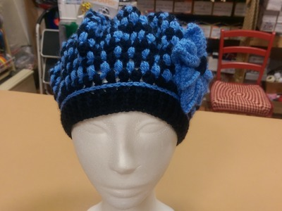 TUTORIAL PARTE 1: Basco all'uncinetto, punto Puff Stich- How to crochet a beret