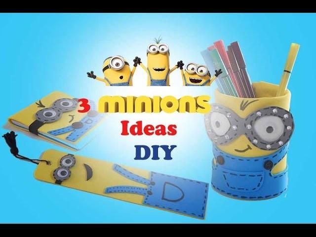 Minions ideas DIY