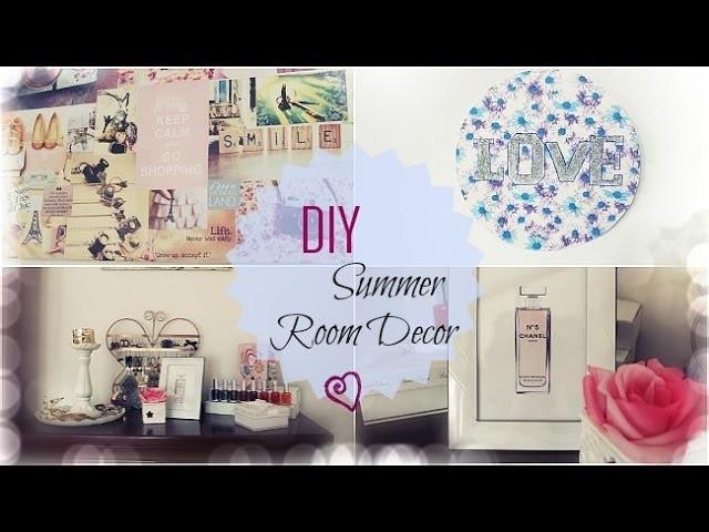DIY Room Decor for Summer | Elena Mood