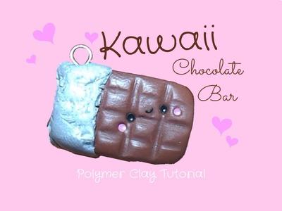 Tavoletta di Cioccolato Kawaii 。◕‿◕。 Kawaii Chocolate Bar ~ Polymer Clay Tutorial