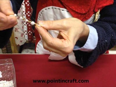Come realizzare delle Stelle di Ghiaccio con le perline