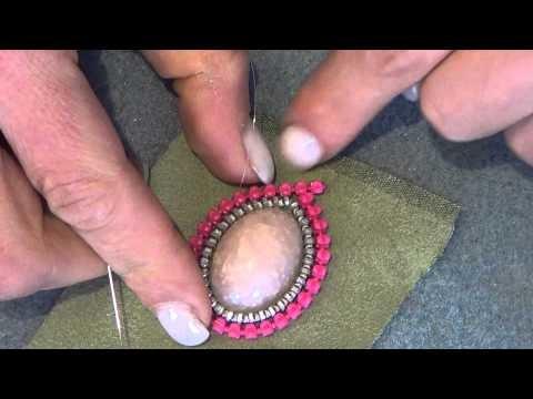 Tutorial orecchino zip e perline