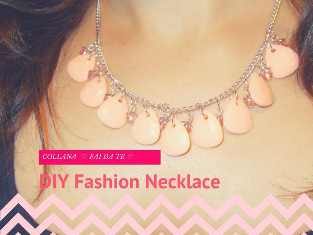 Collana FAI DA TE e FACILISSIMA ❤ DIY Fashion & Nude Necklace | TUTORIAL