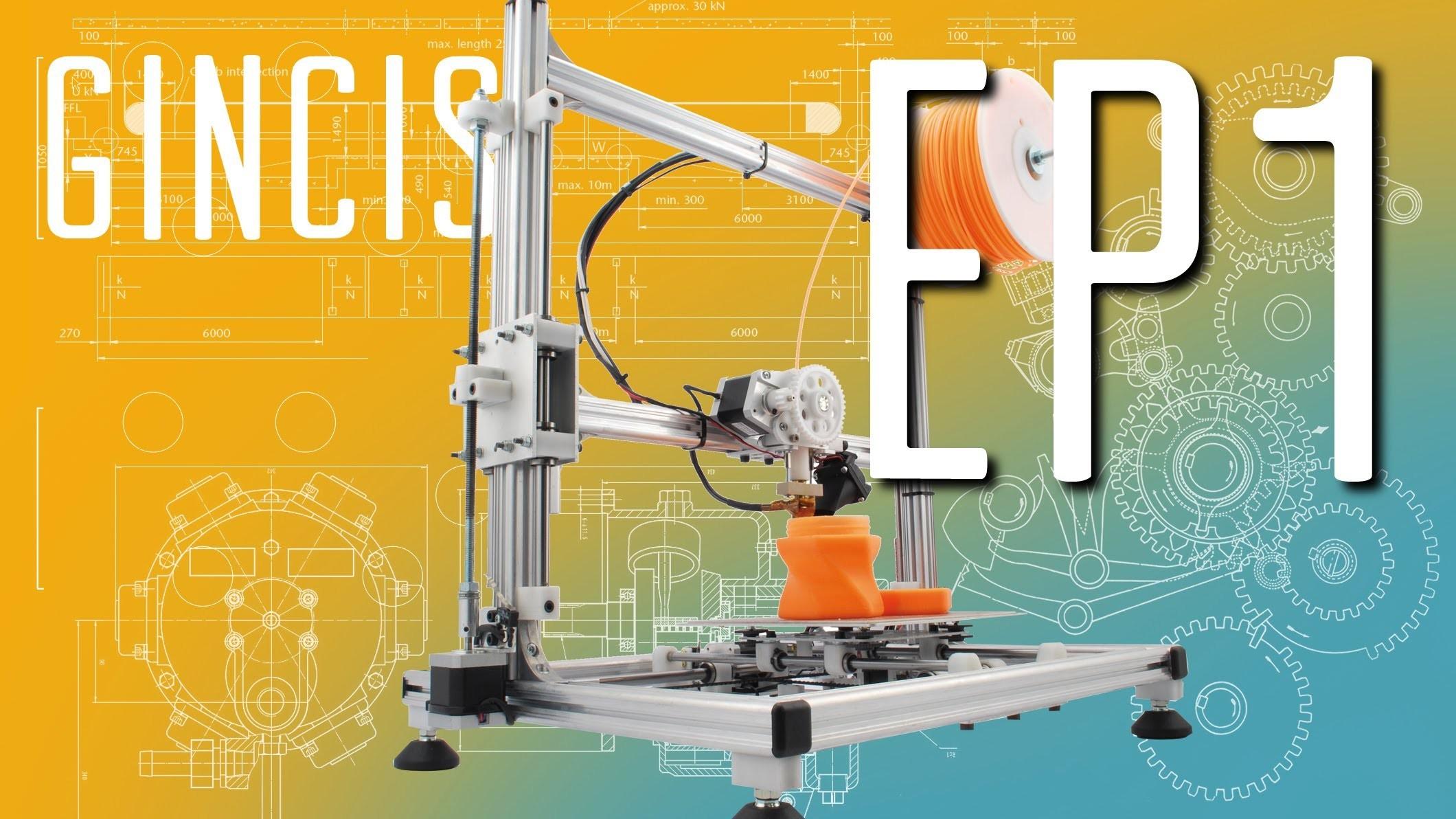 Assemblaggio DIY 3D RAG 3d printing EP1