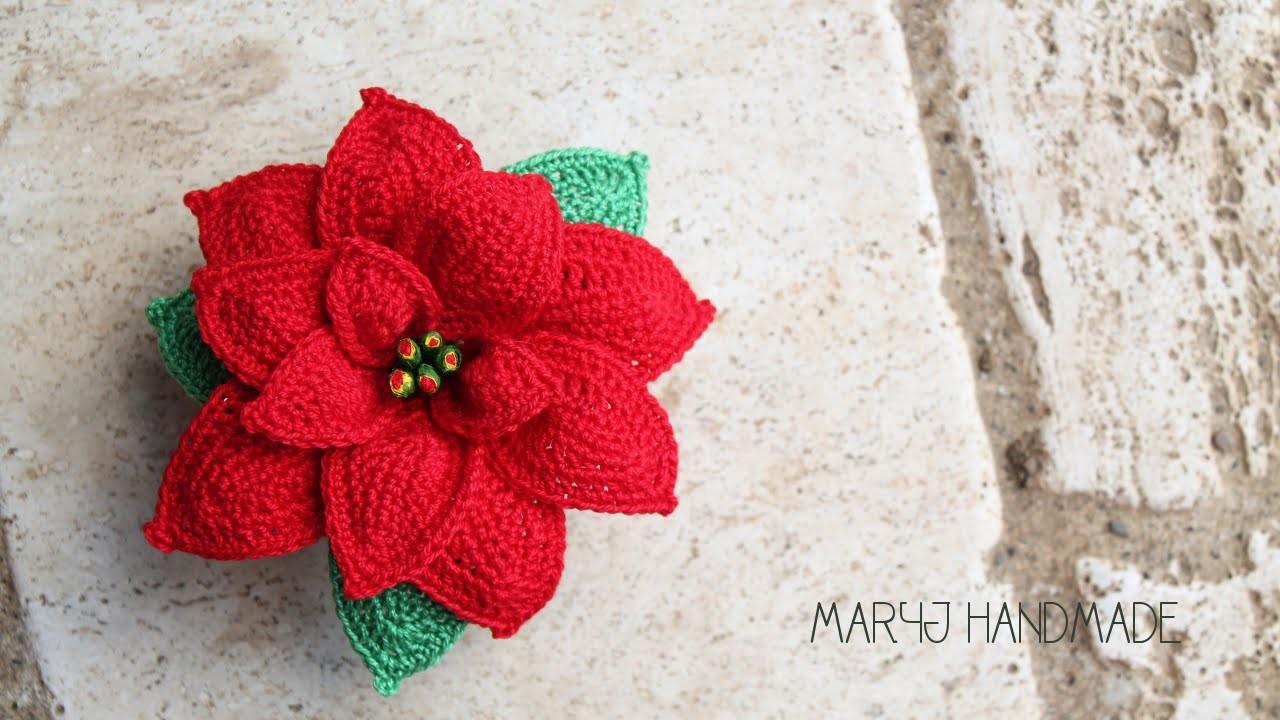 Stella di Natale all'uncinetto | Parte 2