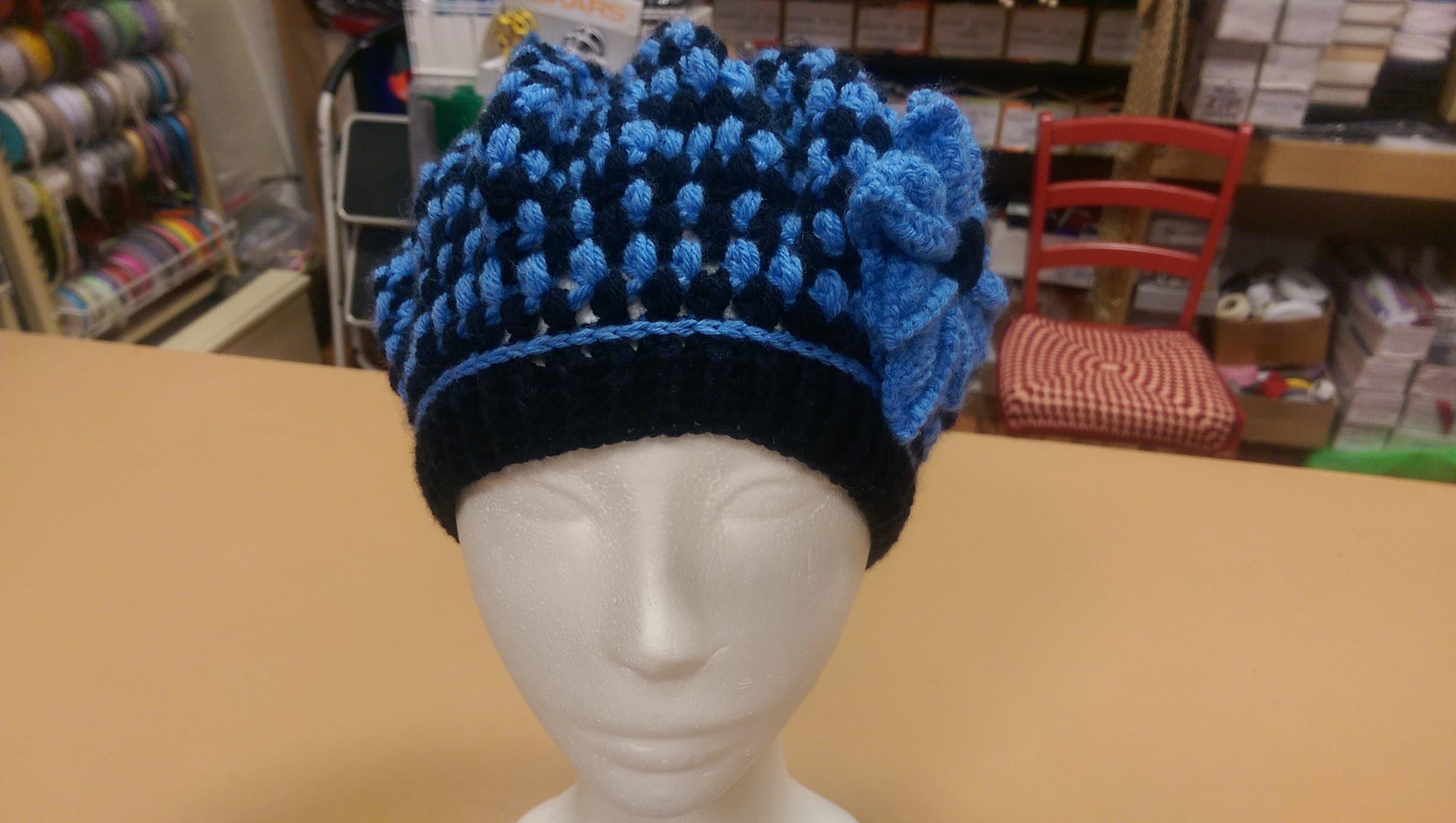 TUTORIAL PARTE 2: Basco all'uncinetto, punto Puff Stich - How to crochet a beret
