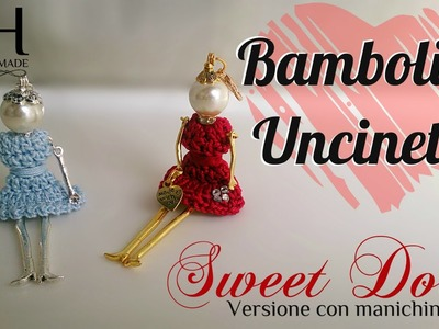 ♡ [Tutorial uncinetto #17] Bamboline | My Sweet Dolls | Vestito | Crochet | Katy Handmade ♡