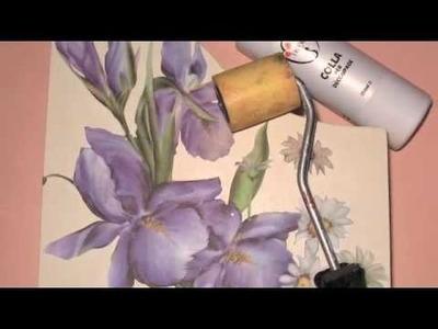 Videocorso:Portariviste pittorico.Progetto di Letizia Barbieri.