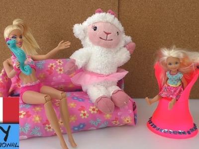DIY come costruire mobili – divano per le bambole - Tutorial  fai da te in italiano