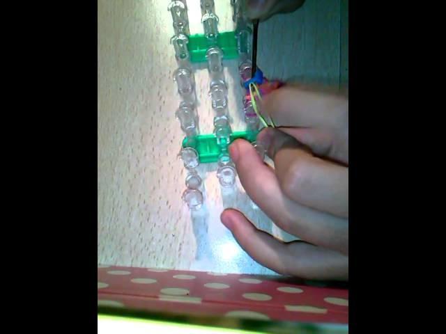 Tutorial: braccialetto con lettere Rainbow loom