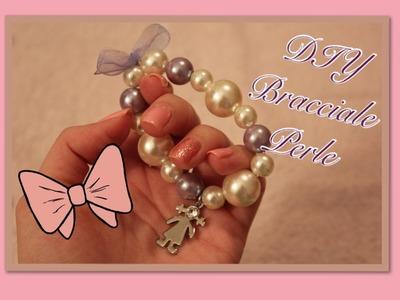 DIY-  Braccialetto Con Perle