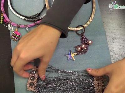 Collana Colori di Musica e Bracciale Black Shine | Tutorial - HobbyPerline.com
