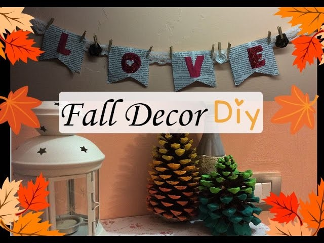 Fall Decor DIY Autunnale ||MegaPleby