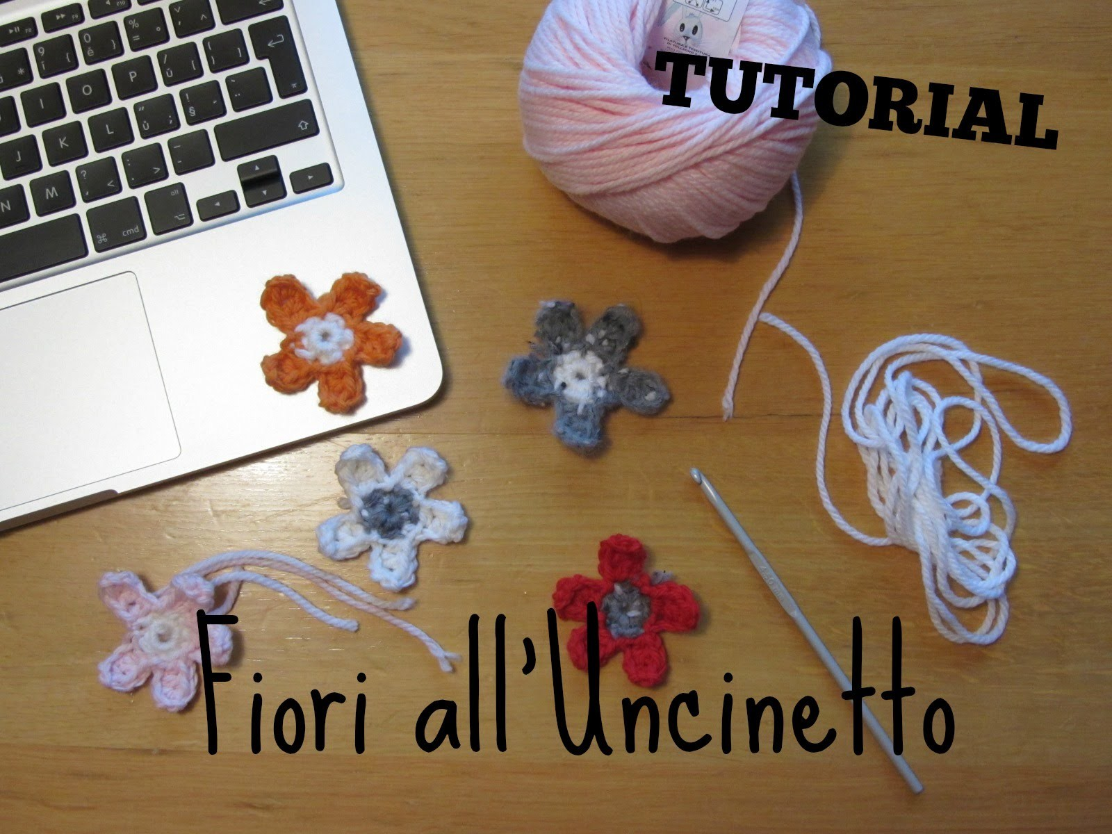Tutorial all'Uncinetto - Fiori