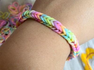 """Loom Bands: Tutorial """"Come iniziare un bracciale"""" - PRINCIPIANTI"""