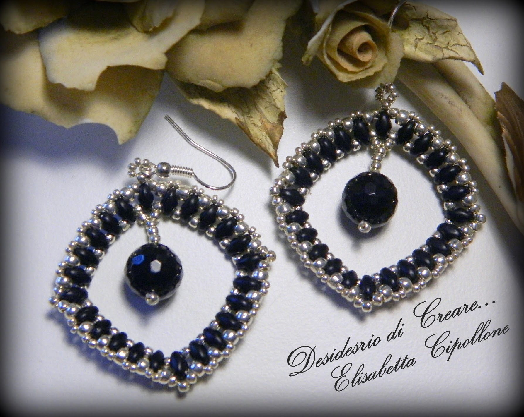"DIY orecchini ""Scintilla""  - Earrings "" Spark"""