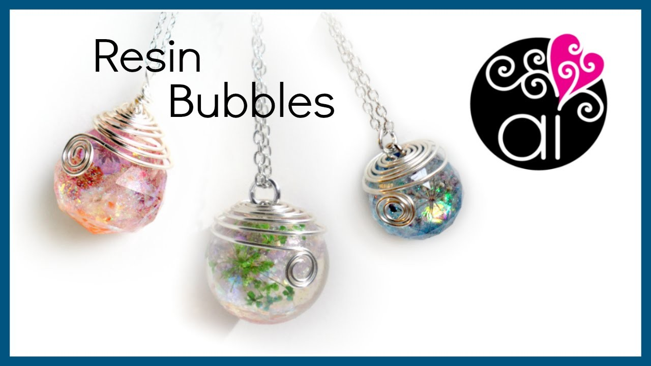 Tutorial Sfere Resina | DIY Resin Bubbles