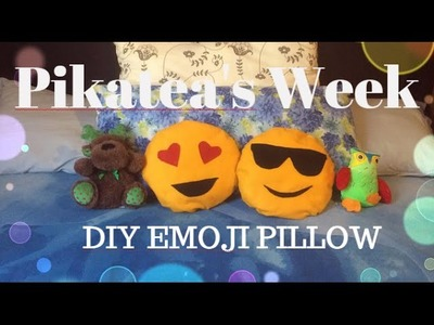 ❤ DIY CUSCINI EMOJI [ITALIANO] | Pikatea's Week ❤