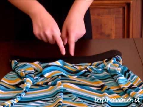 DIY Maxi Skirt - Come fare una gonna lunga
