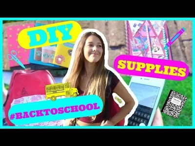 DIY Supplies + Backpack | #BackToSchool (ITA) | Gloria White