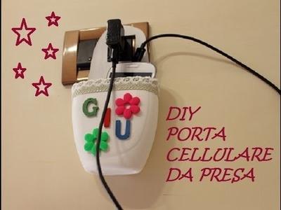 DIY - Porta cellulare da presa - ITA