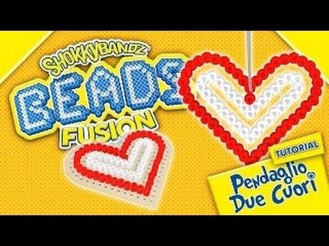 ☺Shokky Bandz Beads Fusion ☺cuore ♡perline da stirare♡