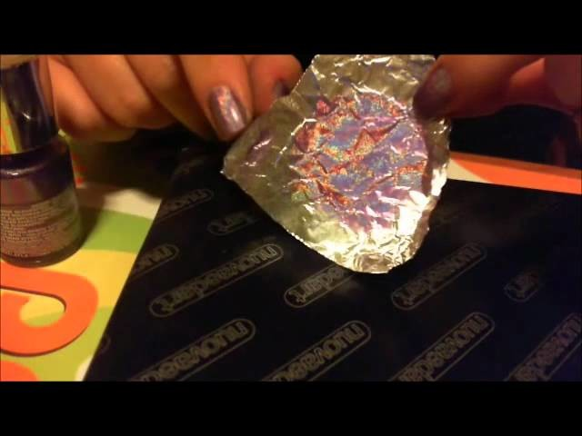 Tutorial cabochon olografici in resina (holographic effect cabochon)