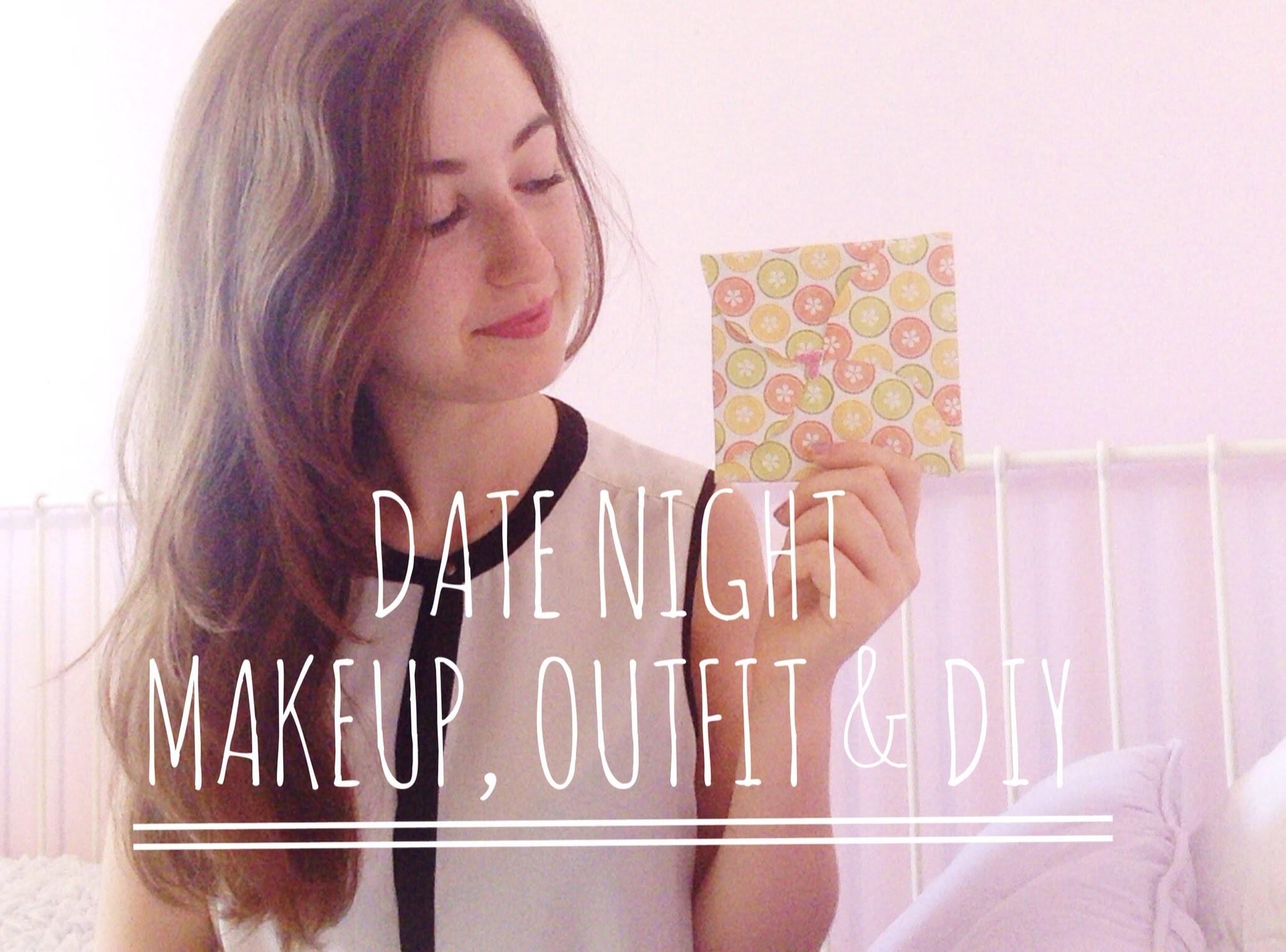 Romantic Date Night Makeup, Outfit & DIY♡ | itsLucretia