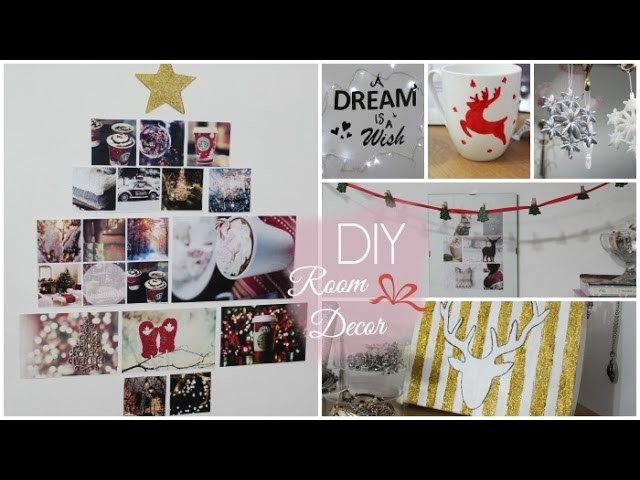 DIY Holiday Room Decorations | Elena Mood