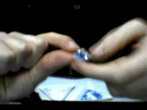 Tutorial anello con swarovski 1.3