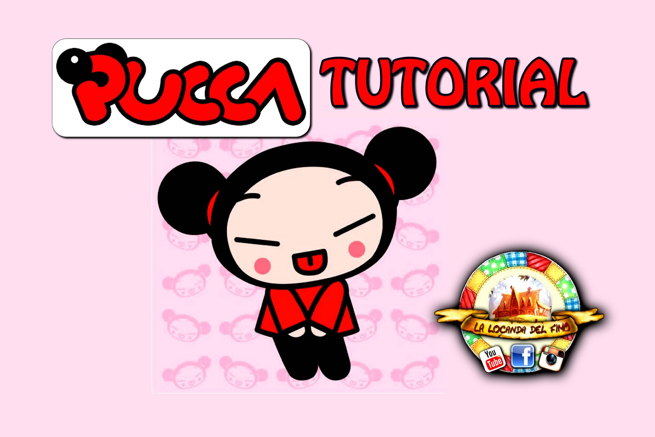 TUTORIAL FIMO --PUCCA-- DIY POLYMER CLAY PUCCA
