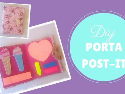 DIY PORTA POST IT