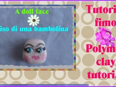 TUTORIAL FIMO #6: come creare il viso di una doll Polymer clay doll face